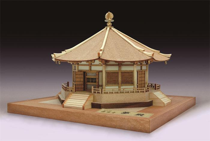【送料無料!!】 木製建築模型 1/150 法隆寺 夢殿 ウッディジョー