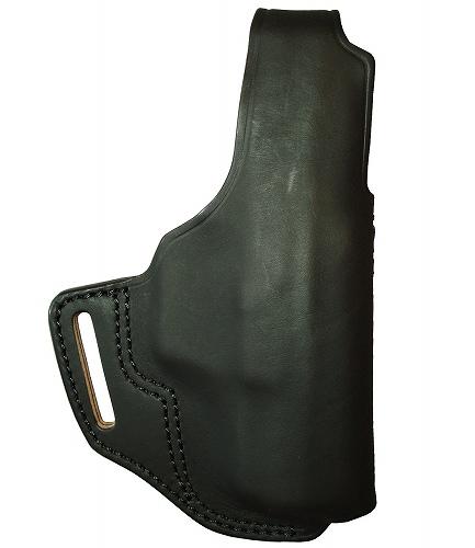 シルエットホルスター 牛革製 サムブレイククロスタイプ ブラック ワルサーP99用 255-BK