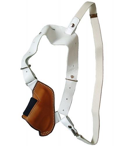シルエットショルダーホルスター 牛革製 ブラウン 292-Br