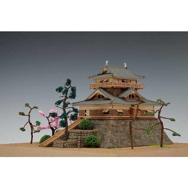 海外限定 送料無料 沖縄県 離島を除く 木製建築模型 国内正規品 150 1 丸岡城