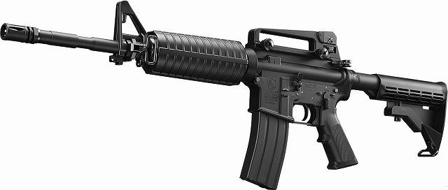 ガスブローバック マシンガン M4A1 カービン 【ラッピング不可】