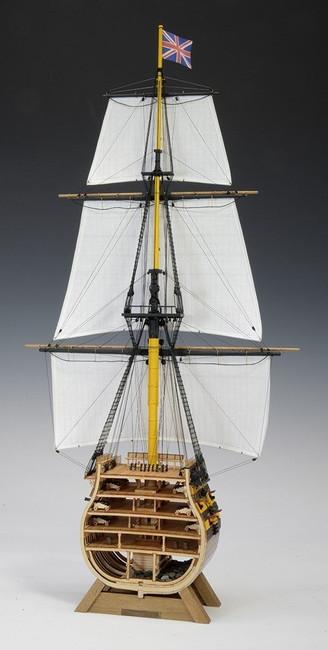 送料無料 沖縄県 離島を除く 入荷予定 木製帆船模型 1 帆付き カットモデル 160 いよいよ人気ブランド ビクトリー
