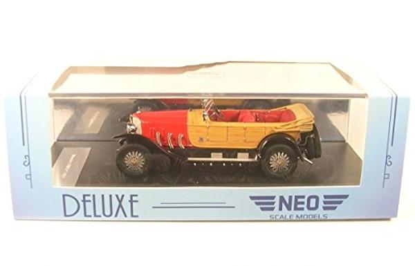 NEO ミニカー 1/43 メルセデス 28/95 '22 レッド/ウッド NEO46171