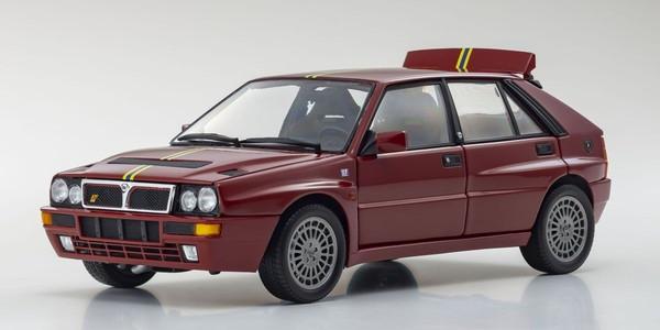 ブランド品 買取 完成品ダイキャストミニカー 1 18 ランチア デルタ HF インテグラーレ ボルドーレッド 京商オリジナル エディツィオーネ フィナーレ Evo.II KS08343C