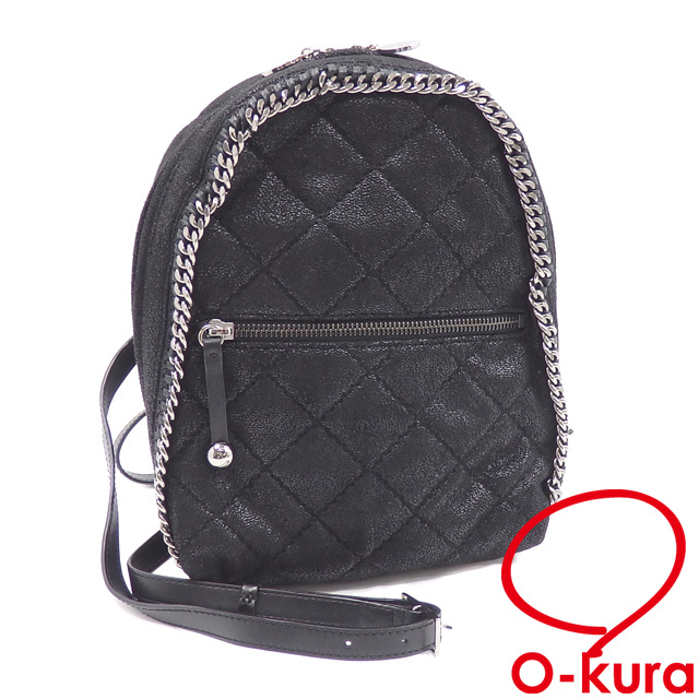 63a8406a683d4 Stella McCartney rucksack Fala seawife kill Ted Lady's black black  polyester fake leather 364517 Stella McCartney ...