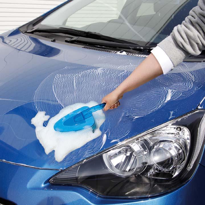 アパート 洗車