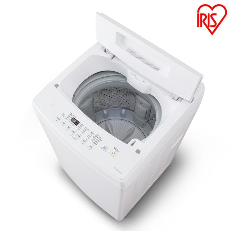 全自動洗濯機 8.0kg IAW-T802E送料無料 全自動洗濯機 8.0kg 全自動 洗濯機 部屋干し きれい キレイ senntakuki 洗濯 毛布 洗濯器 せんたっき ぜんじどうせんたくき 洗濯機 おしゃれ着洗い ステンレス槽 アイリスオーヤマ