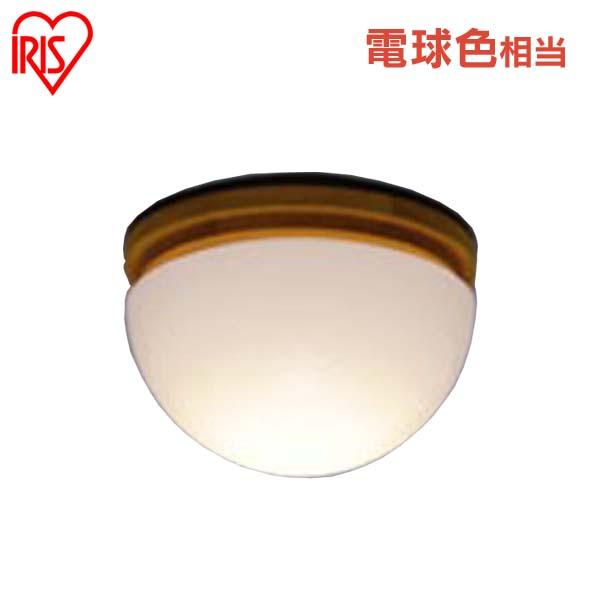 アイリスオーヤマ LED小型シーリング もち型木枠 CLYW-E17N