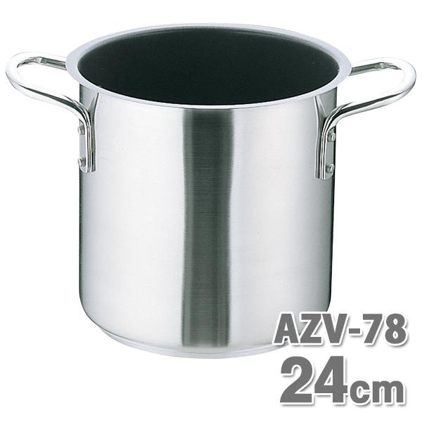 ムラノ テフロン AZV7803 寸胴鍋 24cm【en】【TC】