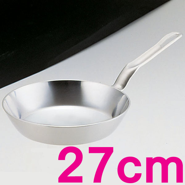 (電磁調理器用)スーパーデンジ フライパン AHLD6027 27cm【en】【TC】