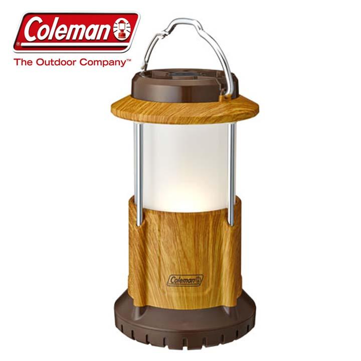 バッテリーロックパックアウェイランタン(ナチュラルウッド) 2000031275アウトドア ランタン 電池式 LED キャンプ用品 Coleman ライト おしゃれ コンパクト アウトドアLED アウトドアライト ランタンLED LEDランタン コールマン