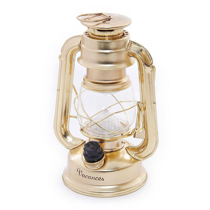 プレミアムバカンスLEDランタン SFVL1530BZランタン LEDランタン LED おしゃれ かわいい アンティーク風 インテリア SPICE ブロンズ・ゴールド