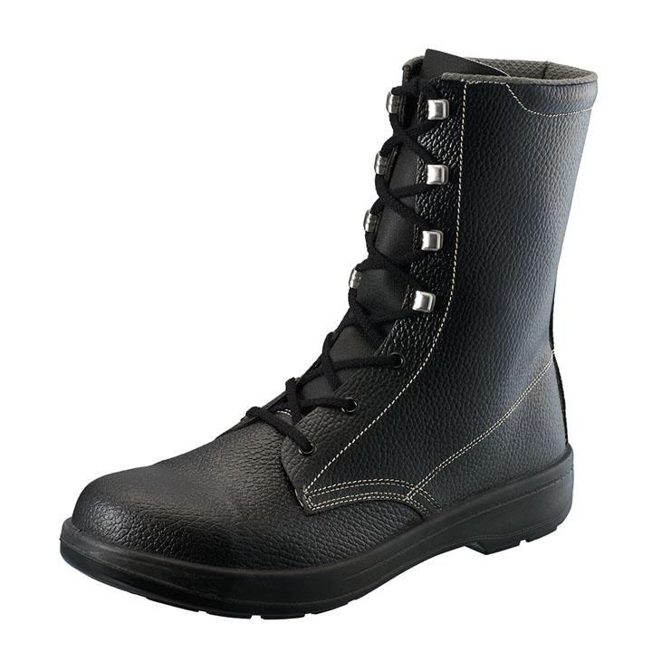 発泡ポリウレタン2層底 JIS規格安全長編上靴 黒 AW33送料無料 安全靴 半長靴 作業靴 編み上げ 長靴 長編上靴 作業用品 DIY 作業着 シモン 23.5cm・24.0cm・24.5cm・25.0cm・25.5cm・26.0cm・26.5cm・27.0cm・27.5cm・28.0cm【D】