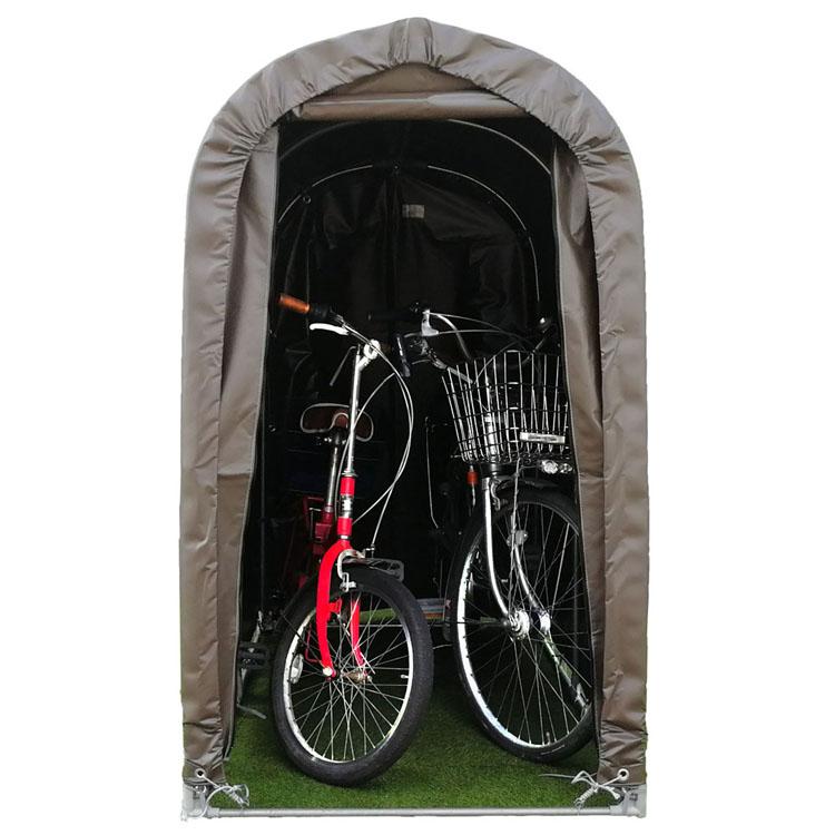 サイクルハウス ブラウン 2台用SB送料無料 自転車 自転車置き場 自転車収納 DIY 工具 住宅設備 南栄工業 【D】