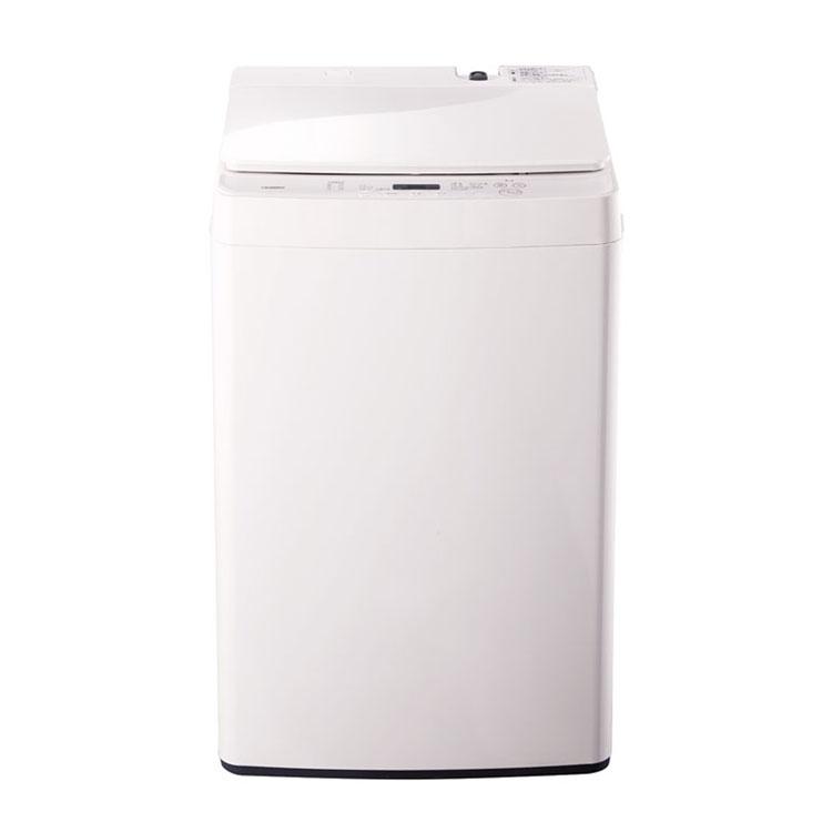 全自動電気洗濯機 5.5kg ホワイト WM-EC55W送料無料 洗濯機 5.5kg 全自動 ホワイト ステンレス槽 ユニバーサル 点字 一人暮らし 二人暮らし TWINBIRD 【D】【時間指定不可】