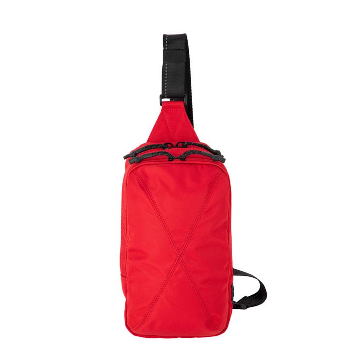 Samsonite RED 軽量 スポーティ メンズ レディース 人気ショップが最安値挑戦 ショルダーバッグ デイリーバッグ ブランド カジュアルバッグ 記念日 自転車 サムソナイト 00007送料無料 S バイアスジャック3 D ボディバッグ BIAS HI0 B JACK レッド 3
