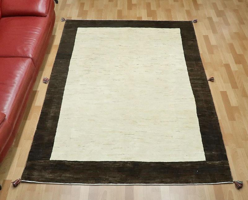 高級ギャッベ/ホシナマイ 235×174cm(HL-34050)イラン直輸入、草木染め、手織り、ブランドギャッベ