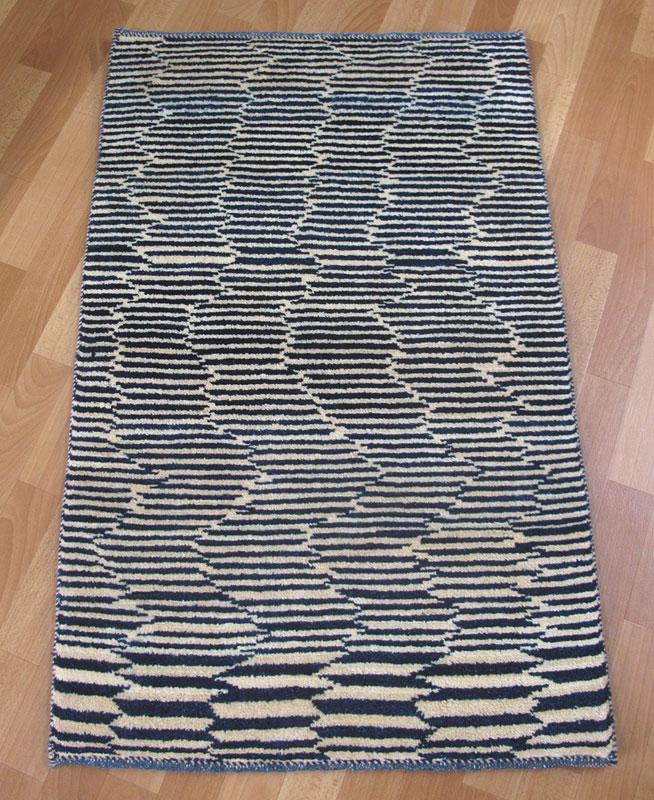 ギャッベ/アマレ、細かな上質ランク 115×73cm(ZS-1199)