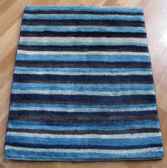 ギャッベ ギャベ/シェカルー、細かめのしなやかな織 107×90cm