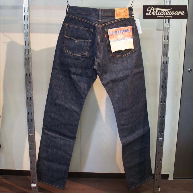 DELUXEWARE (デラックスウエア) DX066A ORIGINAL STRAIGHT JEANS オリジナルストレートジーンズ