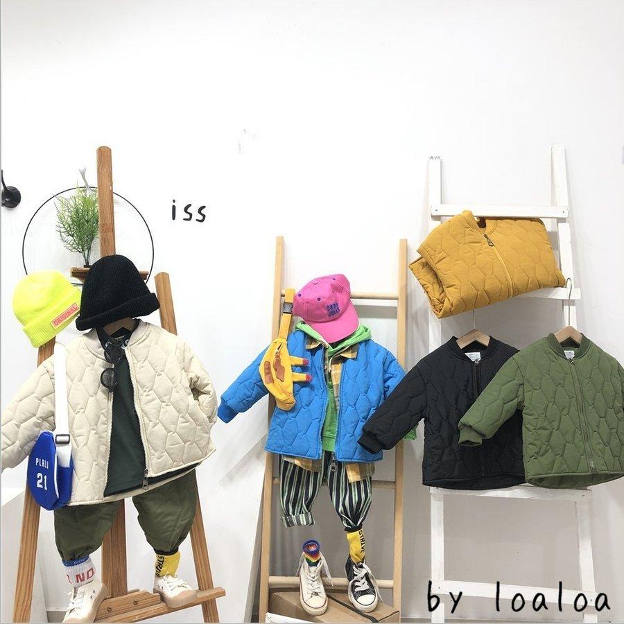 キルティング アウター 早割クーポン 韓国ファッション 全品最安値に挑戦 キルト キッズ ダウン