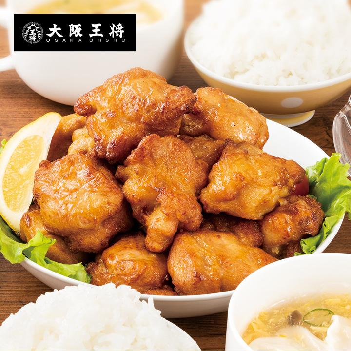 ガッツリ ニンニク醤油 ブランド買うならブランドオフ 大きいサイズで食べごたえしっかり 大阪王将 大きなとりから280g 引出物 鶏 とり から揚げ からあげ ガーリック にんにく 唐揚げ スタミナ 若鶏