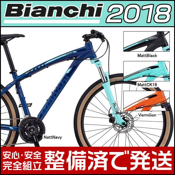 ビアンキ 2018 MTB 27.5インチ クマ 27.3 38サイズ