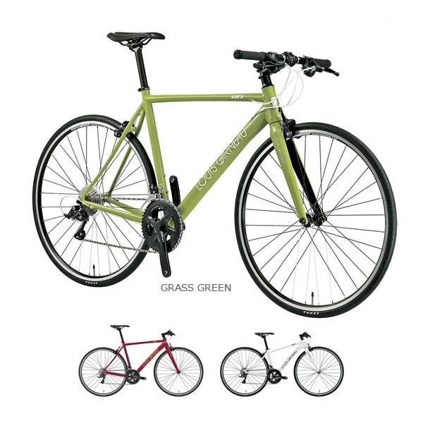 シマノ 2x9sp 700C フラットバーロード ルイガノ アビエーター9.2 クロスバイク LOUIS GARNEAU AVIATOR9.2