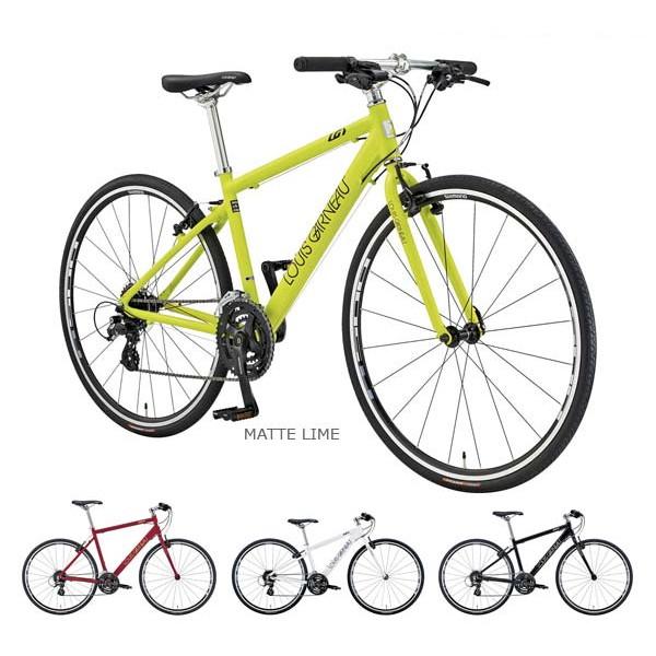 シマノ 3x8sp 700C クロスバイク ルイガノ セッター9.0 クロスバイク LOUIS GARNEAU SETTER9.0