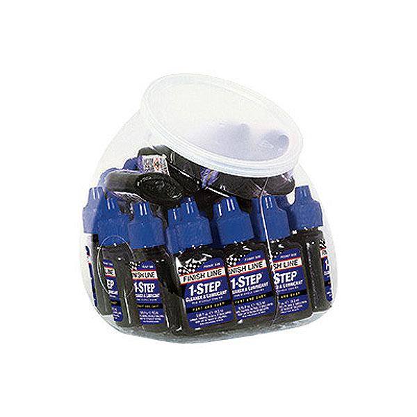 1-Step Cleaner  Lubricant FINISH LINE フィニッシュライン 1ステップ クリーナールブリカント 19ml ボトル 30本 洗浄・潤滑剤