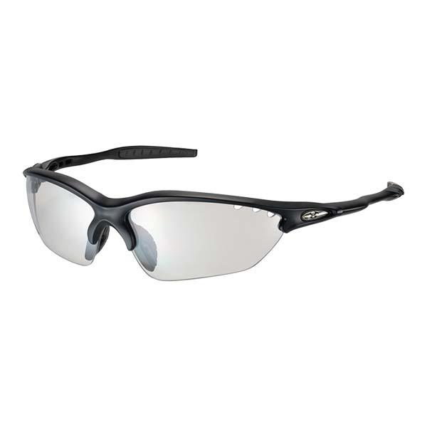 OGK KABUTO オージーケーカブト BINATO X ビナートX フォトクロミック サングラス (調光レンズ) マットブラック