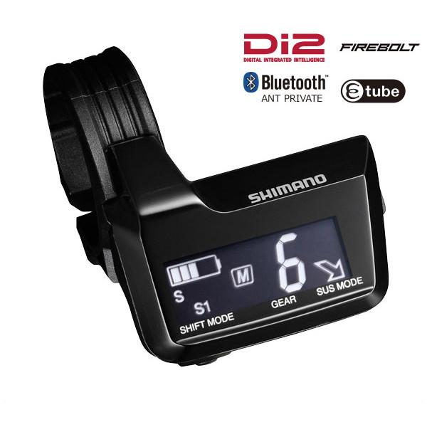 SHIMANO New Deore XT(Di2) システムインフォメーションディスプレー 3ポート Bluetooth対応【シマノ】