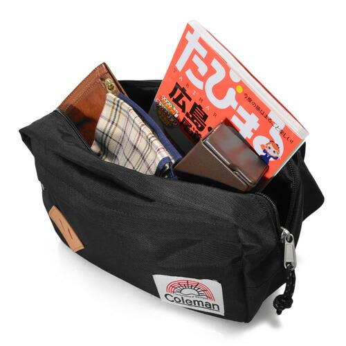 Coleman Coleman! Waist bags body bag C-WAIST BAG NATANSON 21626 non-[anime/manga]