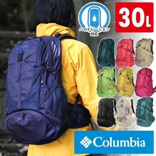 哥倫比亞哥倫比亞! 背包背包 [藍山山脈 30 升背包,PU9648 男人女人 [動漫/漫畫]