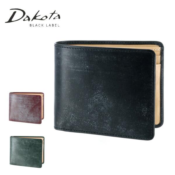 ダコタブラックレーベル Dakota black label!二つ折り財布 折財布 【ロバスト】 627400 メンズ レディース 【あす楽】 【コンビニ受取対応商品】【送料無料】