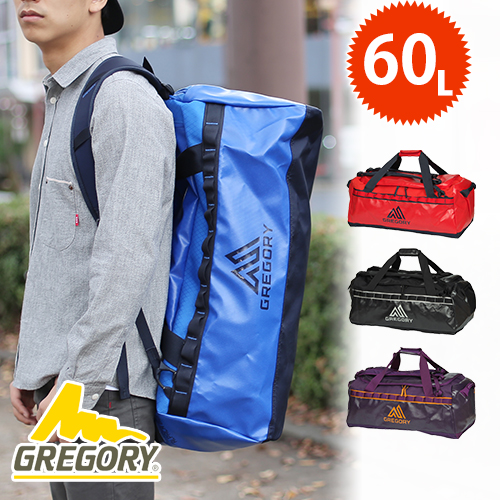 Gregory GREGORY! 2-way Boston bag backpack mens Womens ALPACA DUFFEL 60 litter / alpacadaffle 60 L [anime/manga]