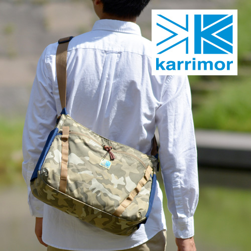 Karima karrimor! Shoulder bag [VT shoulder M] 377771 mens ladies also bag commute commuting Camo [store]