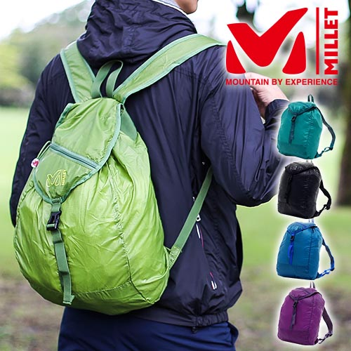 Millet MILLET! Backpack daypack Packable HD 20 [DEFI 20] mis0518u men women [anime/manga], [disabled]
