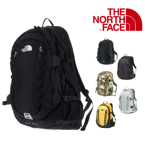 464ced452 The north face THE NORTH FACE! Rucksack day pack big shot [BIG SHOT CL]  nm71605 men gap Dis commuting attending school black high school student ...