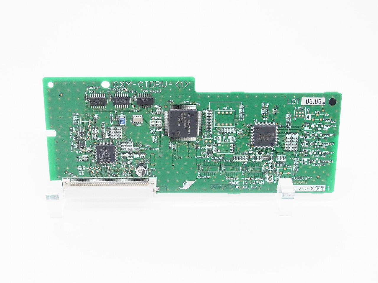 【中古】NTTビジネスホン GXSM-CIDRU(1) GX用ID/PB信号受信用ユニット GXシリーズ 業務用電話機