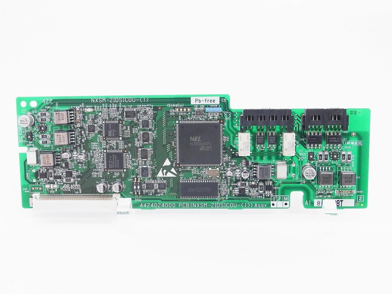 【中古】NTTビジネスホン NXM-2IDSUCOU(1) ISDN2回線用外線ユニット(SM用) 【送料無料】 NXシリーズ 業務用電話機