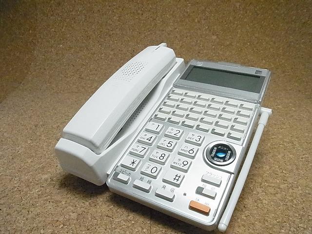 【中古】サクサビジネスホン/ビジネスフォン CL625(W) HM700用30ボタンカールコードレス 美品 【送料無料】 HM700シリーズ 業務用電話機