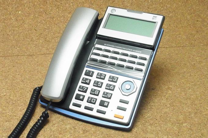 【中古】サクサビジネスホン/ビジネスフォン TD710(K) PLATIA用18ボタン電話機 美品 PLATIAシリーズ 業務用電話機