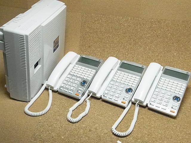 【中古】ビジネスホン/ビジネスフォン サクサ HM700STDシリーズ3台セット 【お見積り無料】 全国設置工事対応!