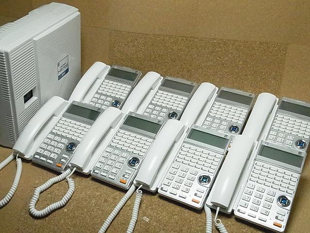 【中古】ビジネスホン/ビジネスフォン サクサ HM700STDシリーズ8台セット 【お見積り無料】 全国設置工事対応!