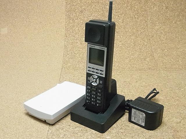【中古】日立/HITACHI ビジネスホン/ビジネスフォン ET-8IE-DCLL(B) IE用デジタルコードレス 美品 IEシリーズ 業務用電話機