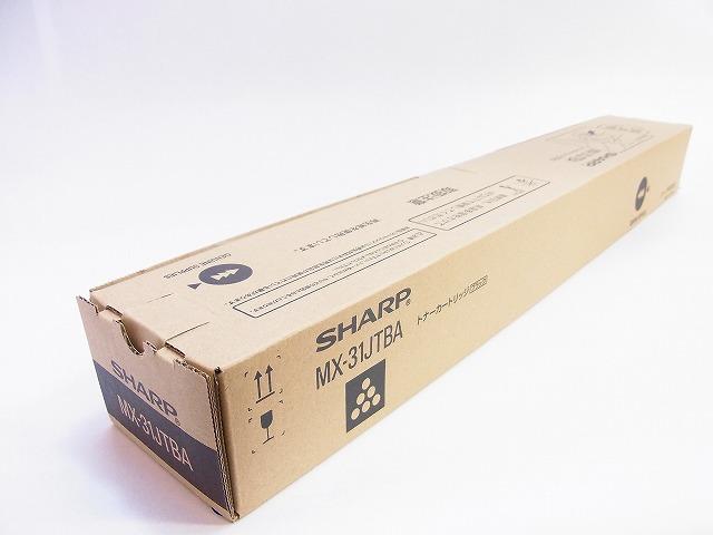 ★新品【送料無料】【即日出荷OK!】シャープトナー MX-31JTBA ブラック【国産純正品新品トナー】