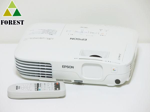【中古】 液晶プロジェクター エプソン EB-X8 ランプ115H