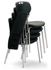小テーブル付き椅子 メモ台付きチェアMC-404TB(FG3)