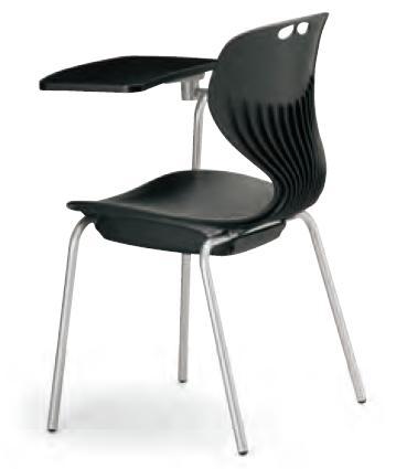 小テーブル付き椅子 メモ台付きチェアMC-404T